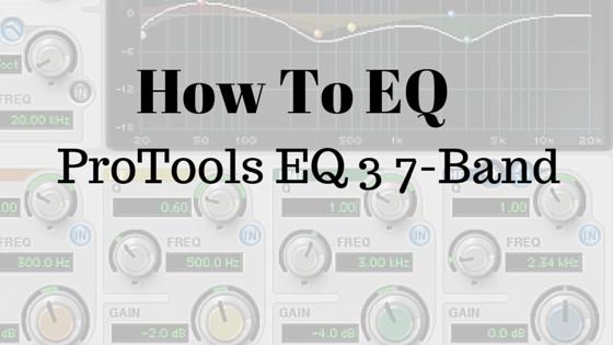 Pro Tools EQ 3 7-Band