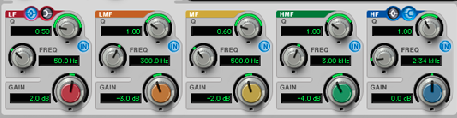 Eq 7-Band Knobs