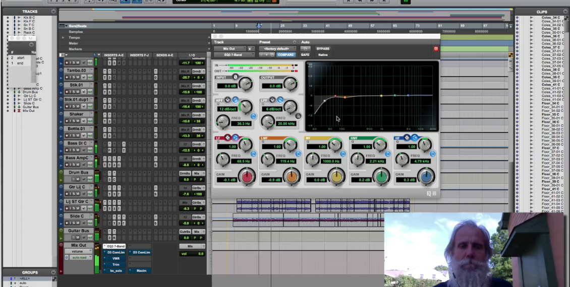 Stereo Master Bus Proccessing using Stock and FREE plugins in Pro Tools