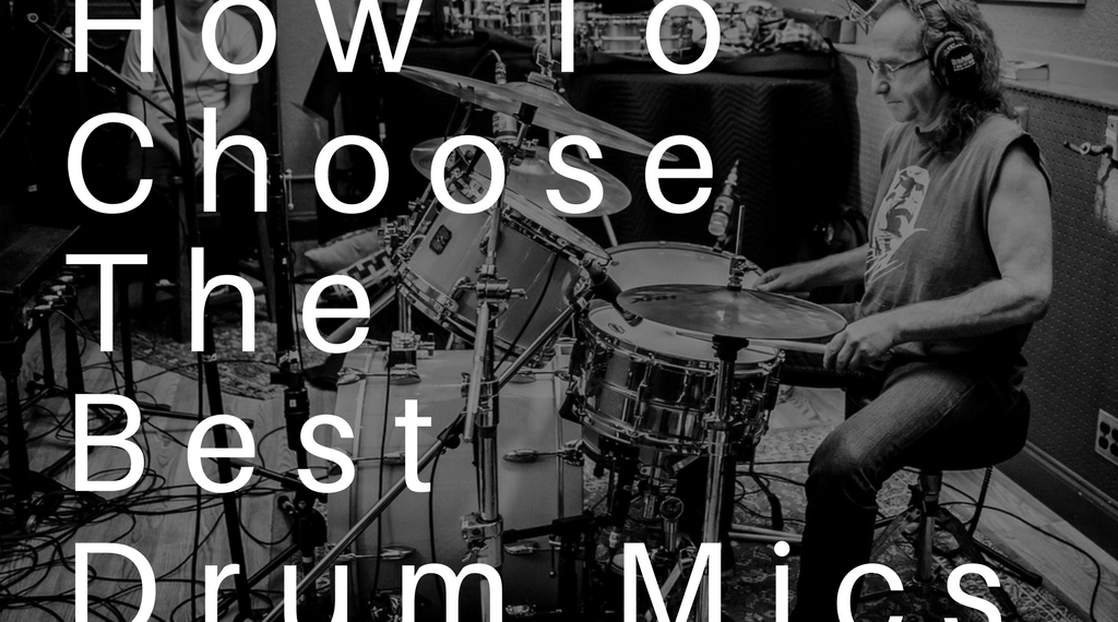 How To Choose The Best Drum Mics (For Your Home Studio